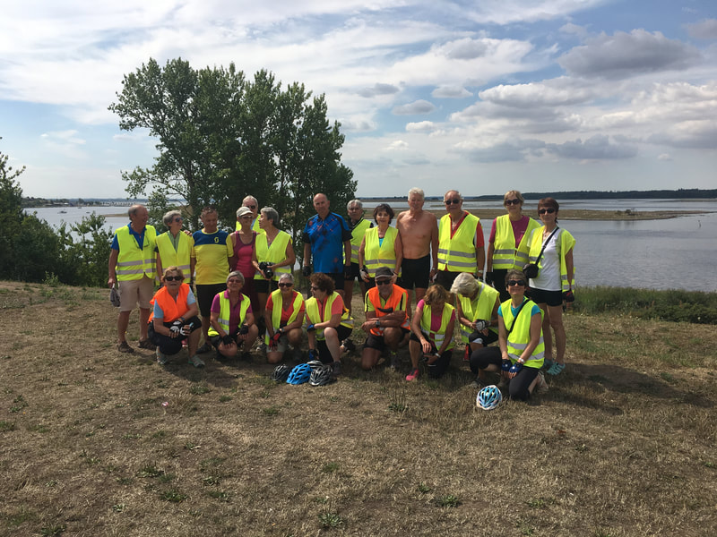 Swiss cycling holidays in Denmark. Tina guided the Swizz based Cyclorando's groups of cyclists around the Northern Zealand and Southern Sweden landscapes in the 2017 and 2018 Summers.